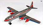 American Airlines Airliner Electra II Prop Engine Toy Airplane Japan