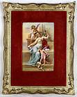 Vienna 1800 Signed Forster Antique KPM Enamel Painting on Porcelain