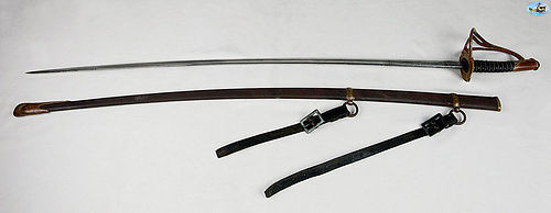 Fabulous Antique German 1872 Style Cavalry Sword