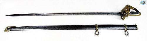 Fabulous Civil War Era Non-Regulation Foot Officer's Sword