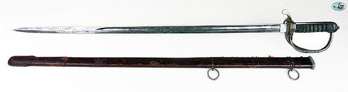 Fabulous George V Officer's Sword For The Royal Artillery