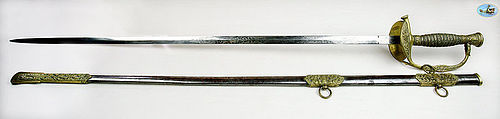 U.S. Model 1860 Staff & Field Officer's Sword by Pettibone Brothers