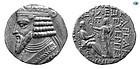 KINGS OF PARTHIA. VARDANES II. CIRCA 44-51 AD. SILVER TETRADRACHM