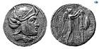 SELEUKID EMPIRE. SELEUKOS I NIKATOR. 312-281 BC. SILVER TETRADRACHM