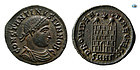 Roman Imperial Constantine II as a Cesar, 317-337 AD, Choice Superb