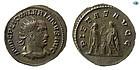 Roman Imperial Valerian I, 253-260 AD, Billon Antoninianus, Choice EF