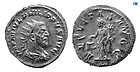 Philip I, 244-249 AD, Silver Antoniani, Choice FDC