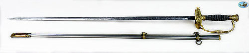 Magnificent U.S. Model 1860 Staff & Field Officer's Sword