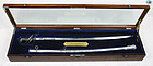 Wonderful 1861 English Officer Henry Calvert Sword Sabre w/ Box