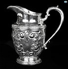 1926 Whiting Mfg. Talisman Rose Hand Chased Sterling Silver Decanter