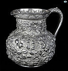 Jenkins & Jenkins Makers Baltimore 925/1000 Silver Repoussé Decanter