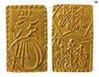 JAPAN, MUTSUHITO, CIRCA 1860S. GOLD 2 BU COIN