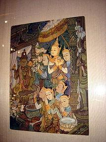 Original Thai Painting