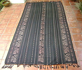 Hand Spun Indonesian IKAT Cotton with Vegetable Dyes