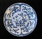Very fine KANGXI Chinese Blue & White Plate