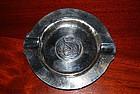 SWISS Silver Ashtray w. RESPUBLICA BERNENSIS Coin