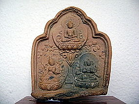 LIAO Dynasty Terracotta Votive TSA TSA Tablet, China