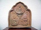 LIAO Dynasty Terracotta Votive TSA TSA Tablet, China