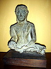 Mounted AYUTTHAYA Bronze Buddha, 18th Century, Siam