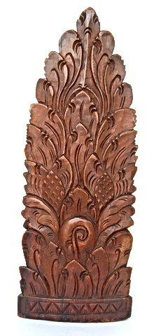 Stupendous Old Balinese Ebony Carving of Rangda, 1939