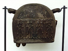 Antique BRONZE ELEPHANT BELL, 19th Century, Burma