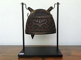 Antique BRONZE ELEPHANT BELL, 19th Century Burma