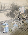 Lively 19th Century CHINESE PAINTING