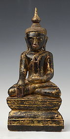Rare 16th Century AVA Burmese Buddha Subduing Mara