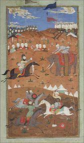INDO-PERSIAN MINIATURE 19th CENTURY