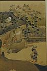 """POLYCHROME WOODBLOCK BY TOSA MITSUOKI """"ARTISANSIN STRAW"""""""