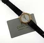 CORUM SWISS WATCH 18K. GOLD AUTOMATIC with Original Guarantee Card