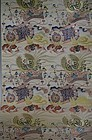 EXCEPTIONAL ANTIQUE JAPANESE TEXTILE SILK ROLL, LENGTH 13 FEET X 27""