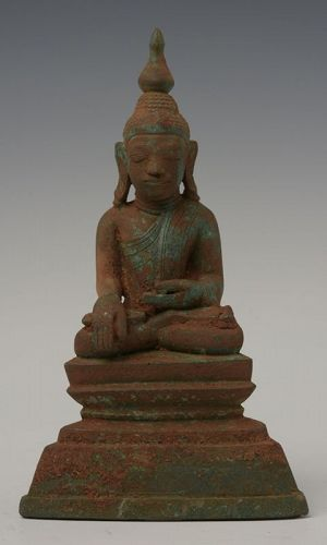 16th Century SHAN BRONZE BUDDHA