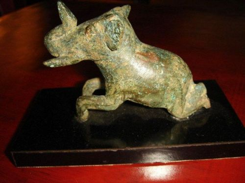 18th Cent. SHAN STATE BRONZE ELEPHANT