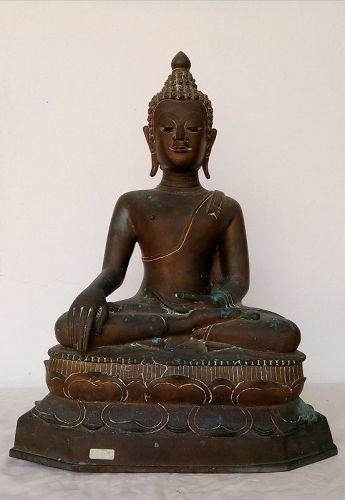 CHIENGSAEN SINGH 1 BRONZE BUDDHA 17/18th Century