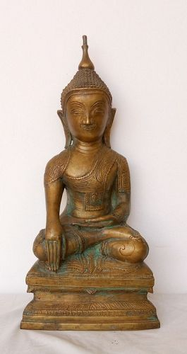 Large SHAN STATE BUDDHA, 18th Century