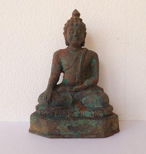 BRONZE SHAN BUDDHA 17/18TH CENTURY