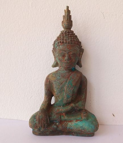 VERY FINE BRONZE SHAN BUDDHA 17/18TH CENTURY