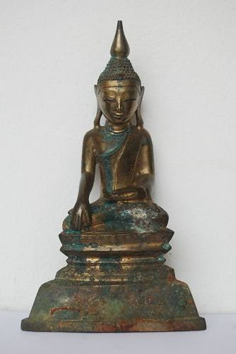 GENUINE 18th Century BRONZE SHAN BUDDHA