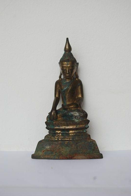 GENUINE 18th Century BRONZE SHAN BUDDHA