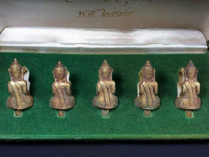 Miniature Bronze Buddhas