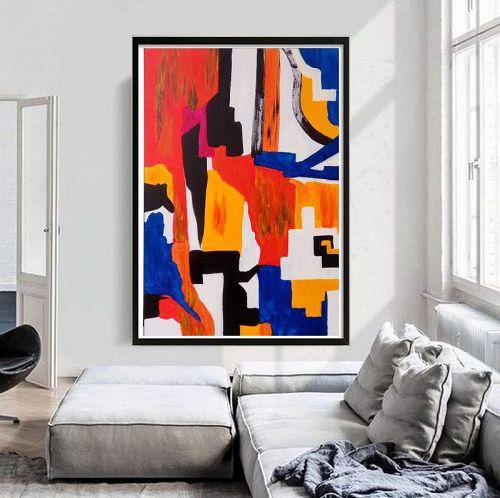 """ECSTASY"" an Original Acrylic Painting."