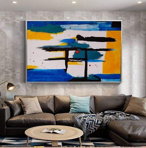 """SHINTO WORLD"" Original Abstract Painting"