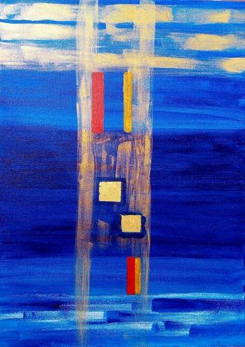 """""""PATH TO NIRVANA"""" Original Acrylic Painting"""