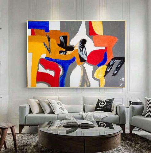 """CONTEMPLATING THE FUTURE"" Original Acrylic Painting"