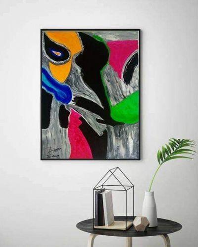 """NEW LIFE"" Original Acrylic Painting"
