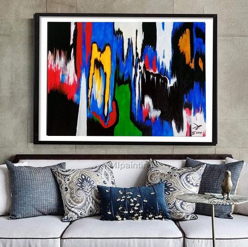 """EMIGMA"" Original Acrylic Painting"