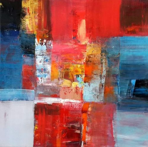 Original Acrylic Paintings by the late Hesham Wafaie (continued)