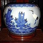 Porcelain Hibachi, 4 colors, Pre 1920, top condition,