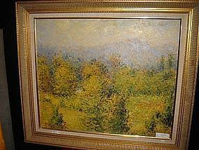 Impressionist style Oil painting signed/framed